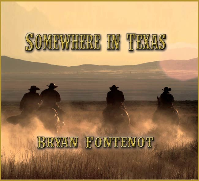 "front cover ""Somewhere in Texas"""